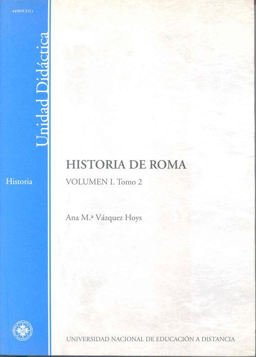 Historia de roma. volumen i. tomo 2