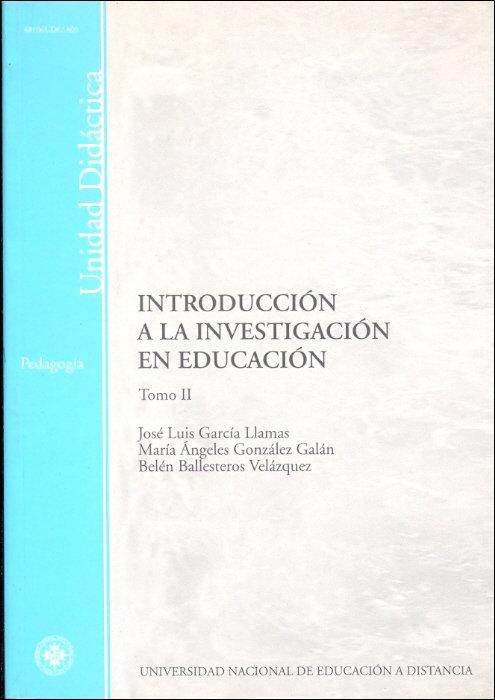Introduccion a la investigacion en educacion