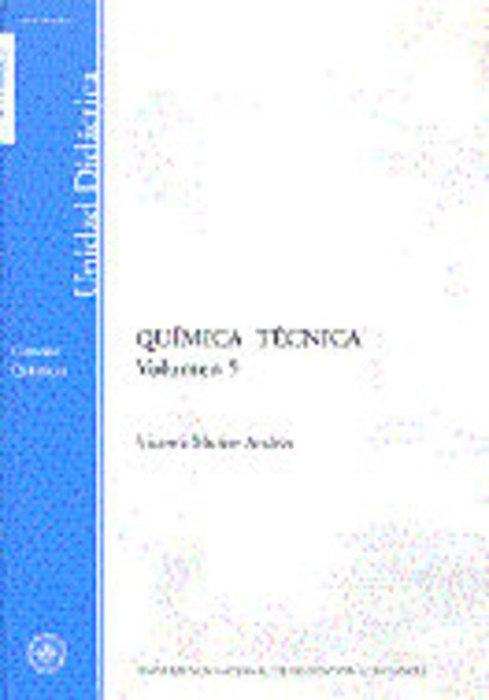 Quimica tecnica. volumen v
