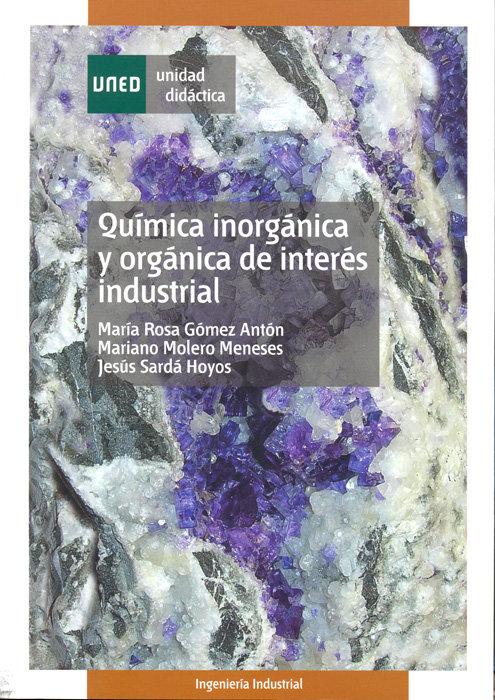 Quimica inorganica y organica de interes industrial