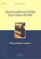Diez años de publicaciones de filologia griega en españa (19