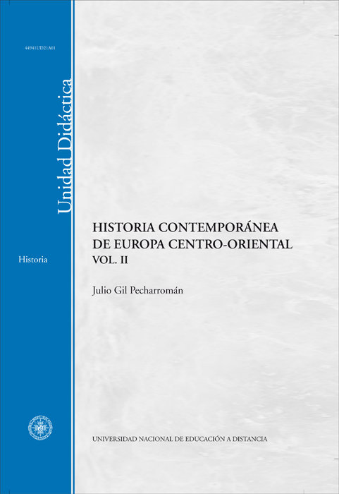 Historia contemporanea de europa centro-oriental. vol-ii