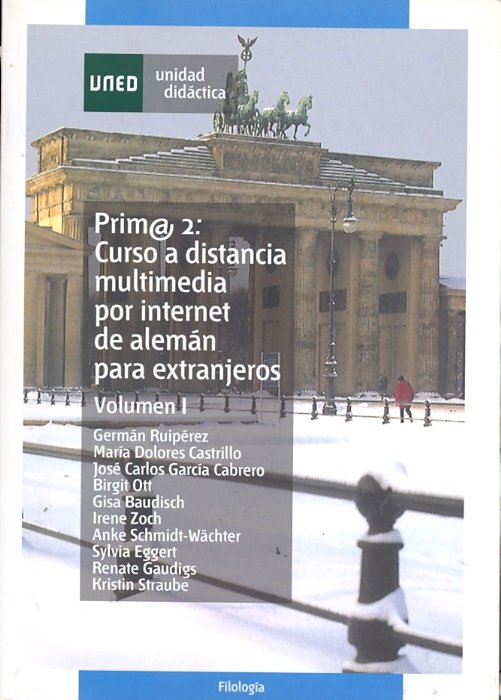 Prim@2: curso a distancia multimedia por internet de aleman