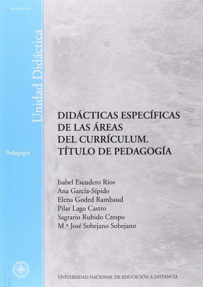 Didacticas especificas de las areas del curriculum. titulo d