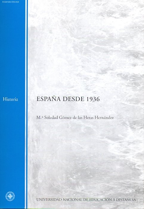 España desde 1936: material provisional : primer cuatrimestr