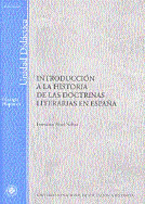 Introduccion a la historia de las doctrinas literarias en es