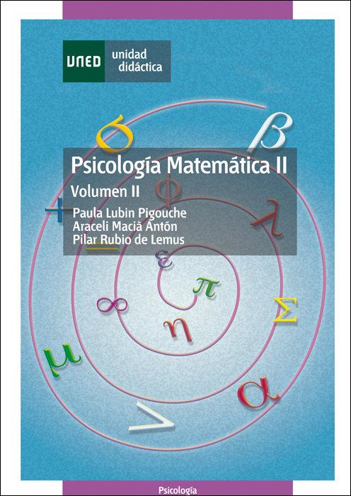 Psicologia matematica ii. volumen ii