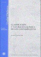 Clasificacion y naturaleza quimica de los contaminantes