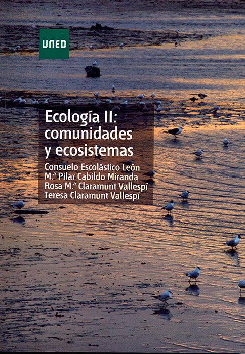 Ecologia ii: comunidades y ecosistemas