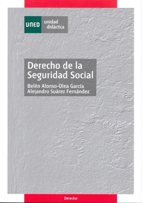 Derecho de la seguridad social  unidad didactica