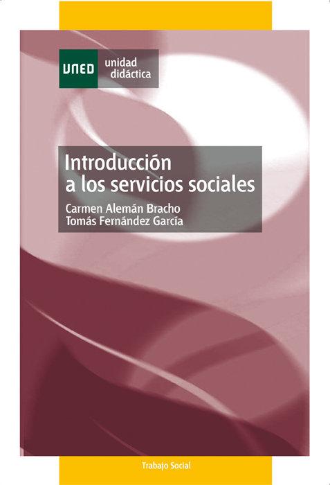 Introduccion a  los servicios sociales