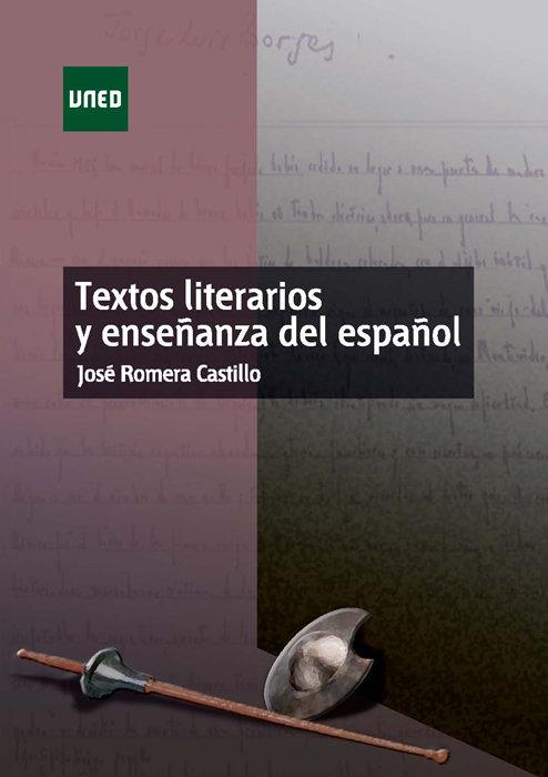 Textos literarios y enseñanza del español