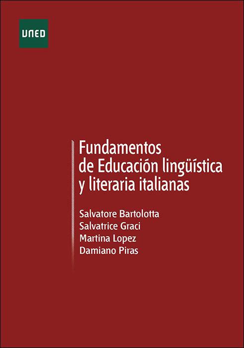 Fundamentos de educacion linguistica y literatura italianas