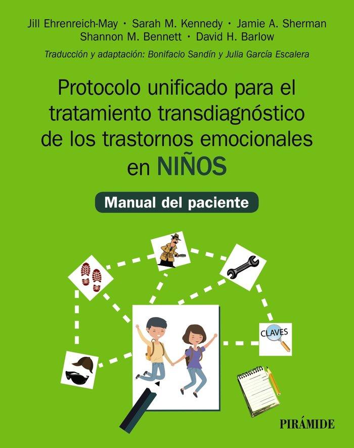 Protocolo unificado para el tratamiento transdiagnostico de