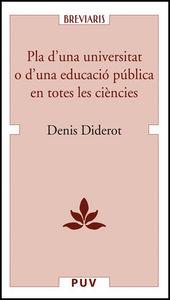 Pla d'una universitat o d'una educacio publica en totes les