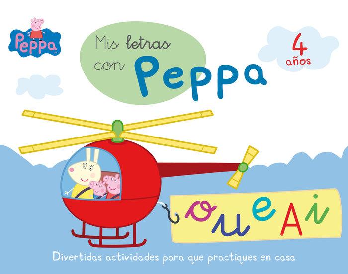 Peppa pig mis letras con peppa 4 años