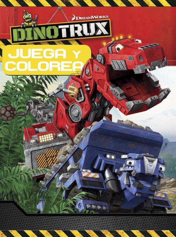 Juega y colorea dinotrux actividades