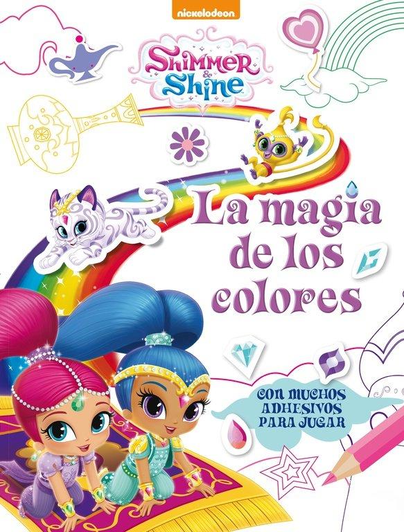 Magia de los colores shimmer y shine actividades,la