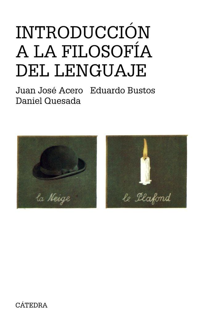 Int.a la filosofia del lenguaje