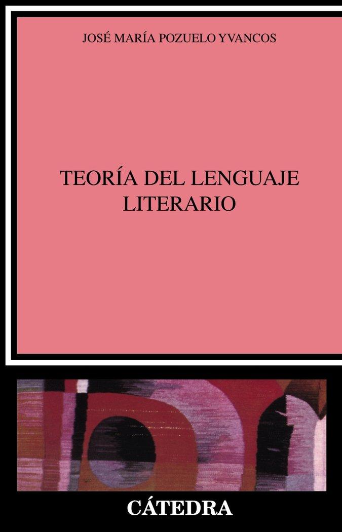 Teoria del lenguaje literario,la