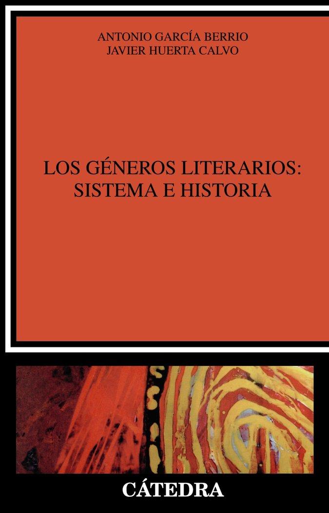 Generos literarios sistema e historia
