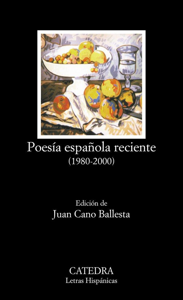 Poesia española reciente 1980-200 lh