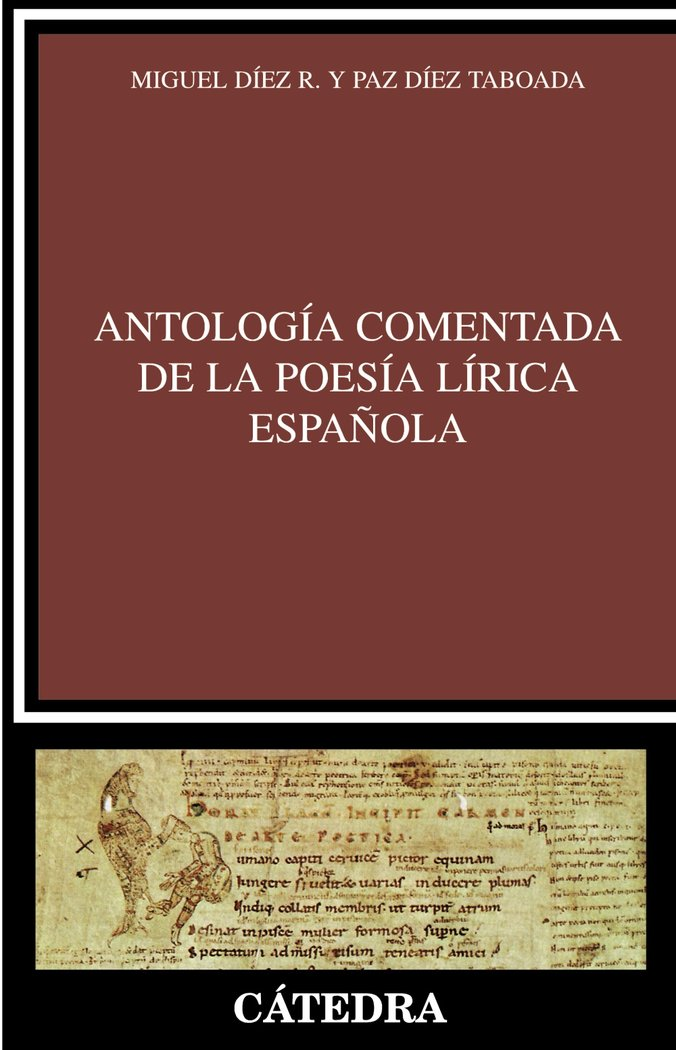 Antologia comentada poesia lirica