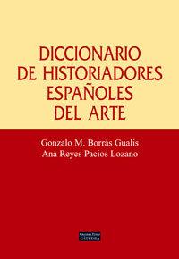 Dic.historiadores españoles del arte