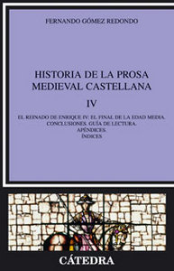 Historia prosa medieval castellana iv