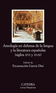 Antologia en defensa de la lengua y literatura españolas