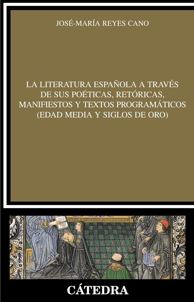 Textos retoricas y manifiestos para el estudio de literatura
