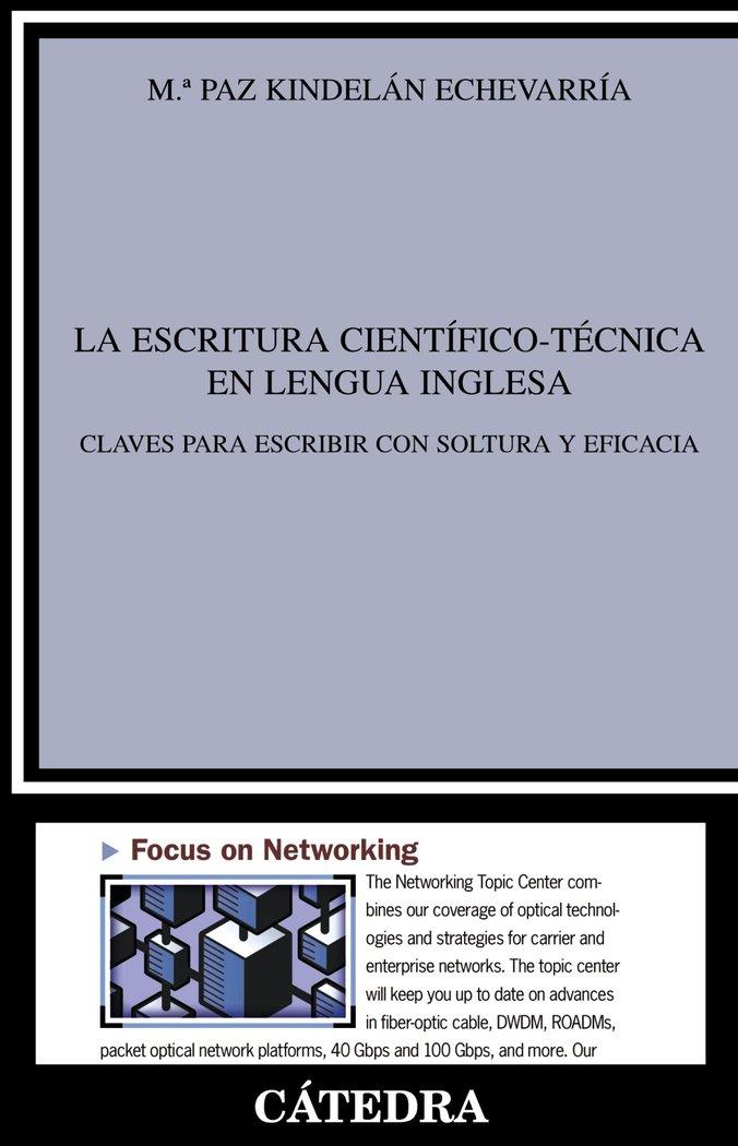 Escritura cientifico tecnica en lengua inglesa,la