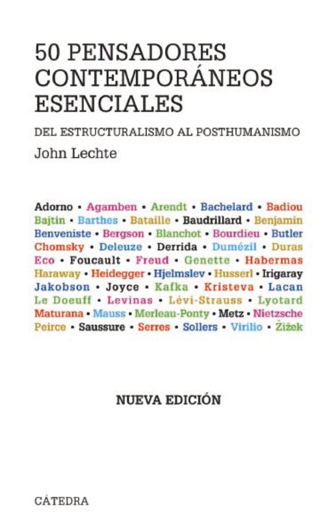 Cincuenta pensadores contemporaneos esenciales