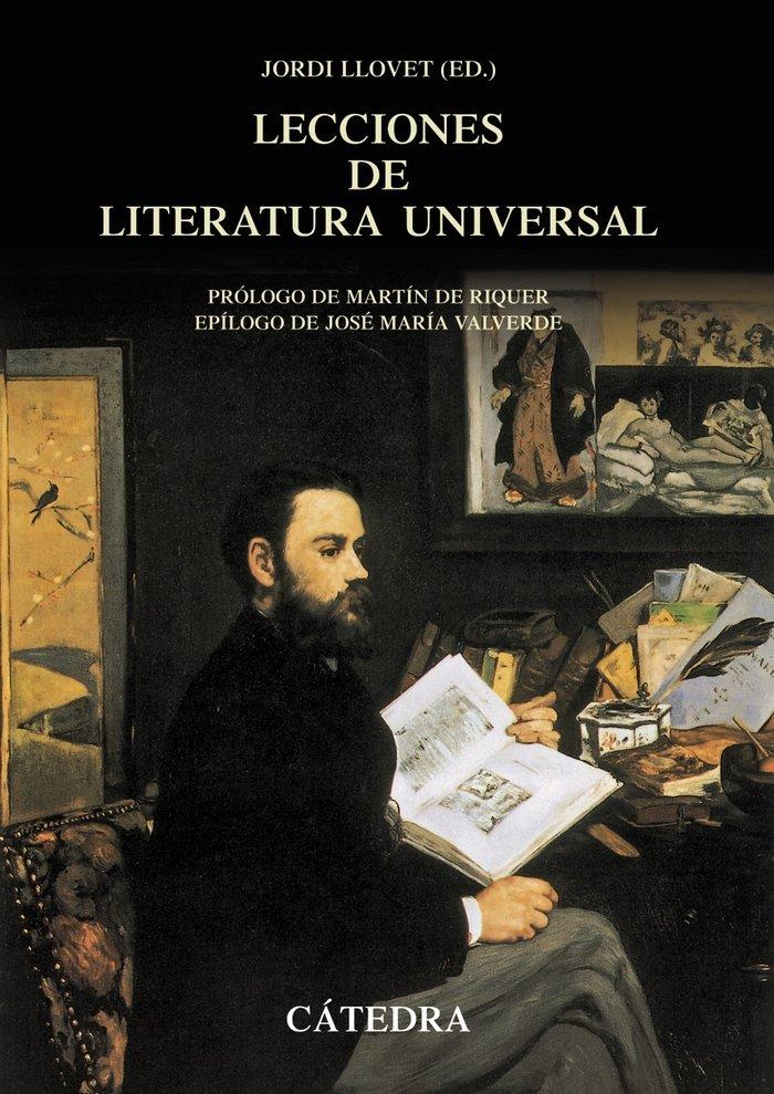 Lecciones literatura universal 4ªed