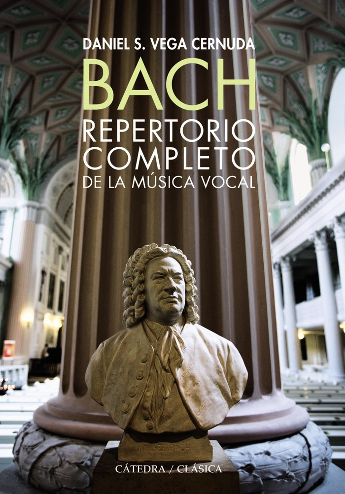 Bach repertorio completo de la musica vocal