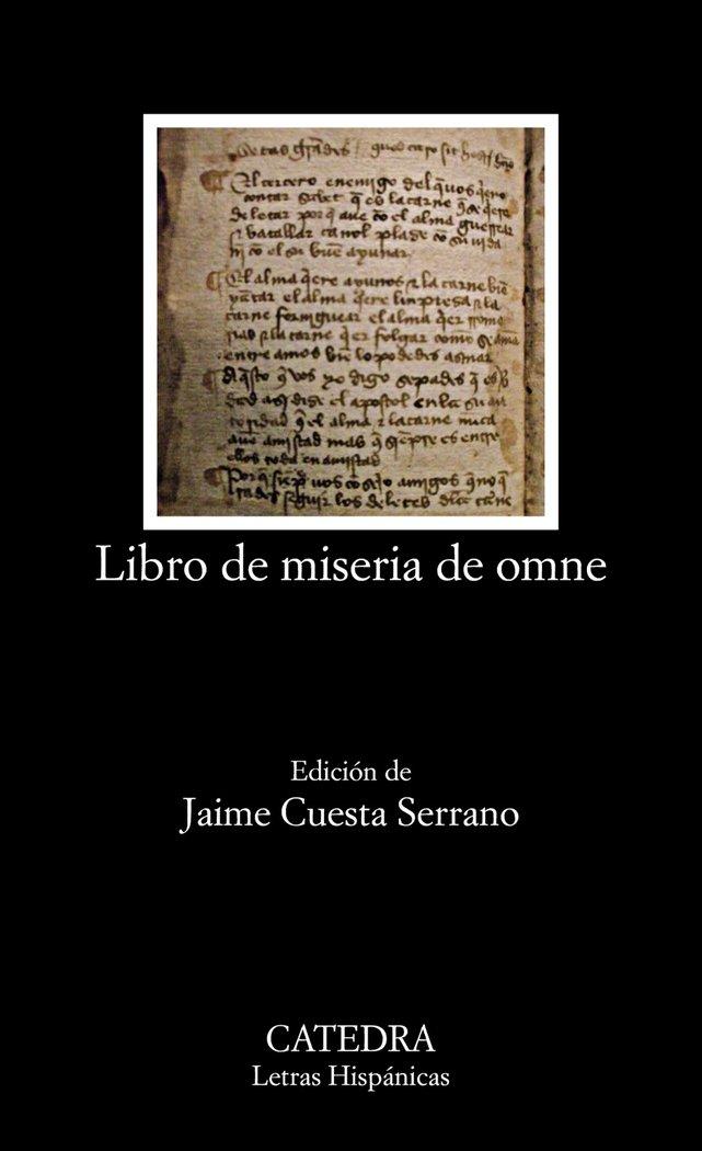 Libro de miseria de omne