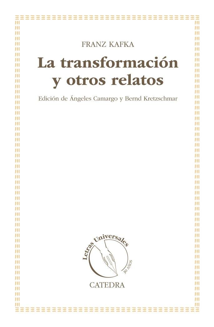 Transformacion y otros relatos,la