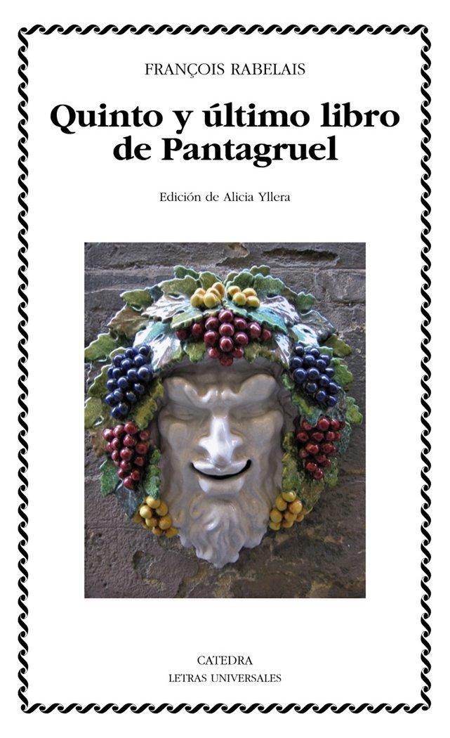 Quinto y ultimo libro de pantagruel (ebook)