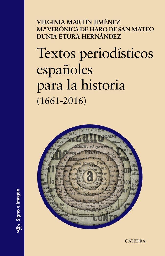 Textos periodisticos españoles para la historia