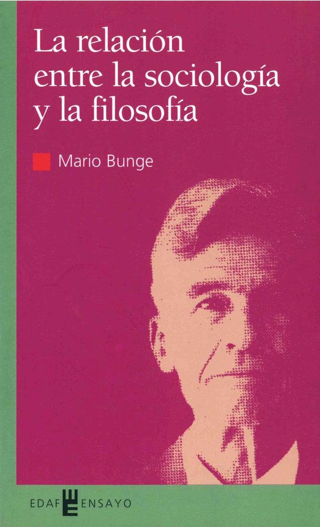 Relacion entre la sociologia y filosofia