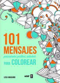 101 mensajes para colorear