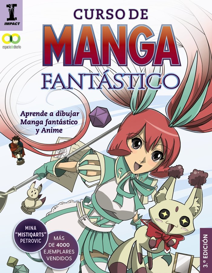 Curso de manga fantastico aprende a dibujar anime y manga