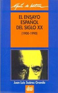 Ensayo español siglo xx(1900-1990)gl