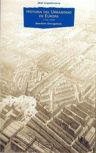 Ha.del urbanismo en europa 1750-1960