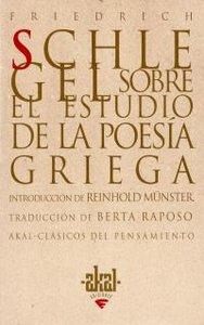 Sobre estudio de la poesia griega
