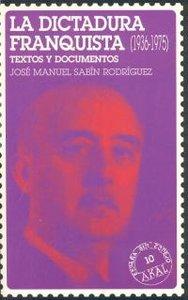 Dictadura franquista 1936-1975