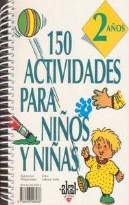 150 actividades niños niñas 2 años
