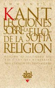 Lecciones sobre la filosofia de religion