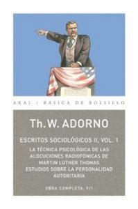 Escritos sociologios ii, vol. 1