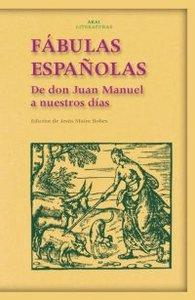 Fabulas españolas de don juan manuel a nuestros dias